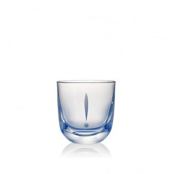 "Glass ""!"" 200 ml Blue"
