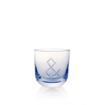 Glass AND 200 ml Blue