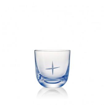 "Glass ""+"" 200 ml Blue"