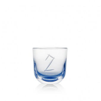 Glass Number 2 200 ml Blue