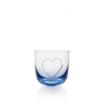 Love Glass I 200 ml blue
