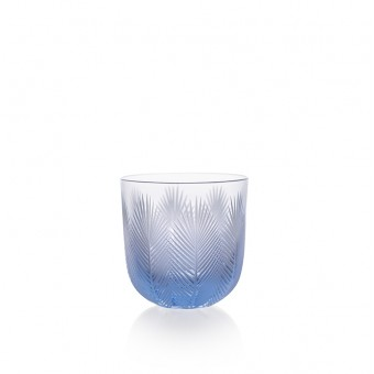 Feather Glass 200 ml blue