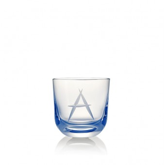 Glass A 200 ml Blue