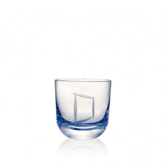 Glass D 200 ml Blue