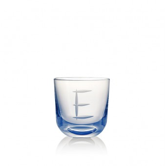 Glass E 200 ml Blue