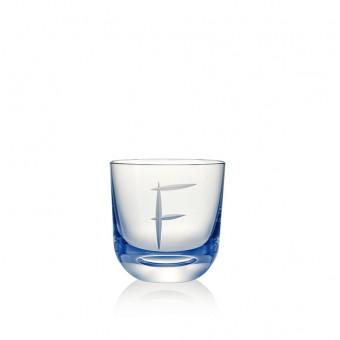 Glass F 200 ml Blue