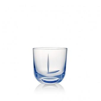 Glass L 200 ml Blue