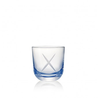 Glass X 200 ml Blue