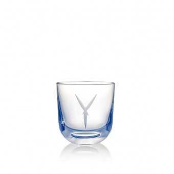Glass Y 200 ml Blue
