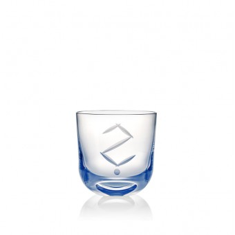 "Glass ""?"" 200 ml Blue"