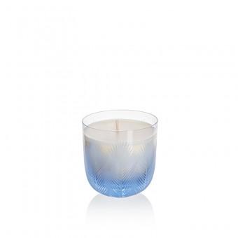Svíčka Feather 9 cm blue