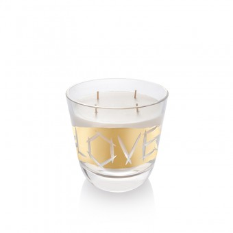 Candle Love Gold 16 cm
