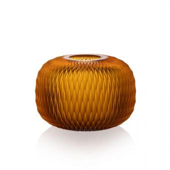 Metamorphosis Vase 13 cm Amber