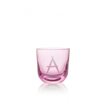 Glass A 200 ml Pink