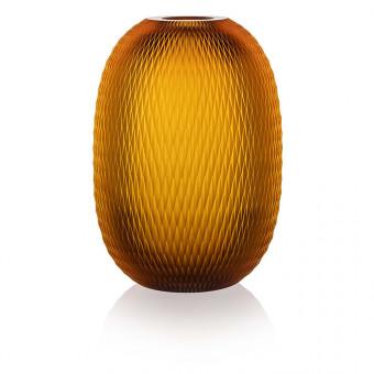 Metamorphosis Vase 30 cm Amber