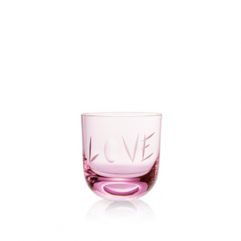 Love Glass II 200 ml Pink