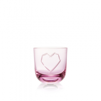 Love Glass I 200 ml Pink