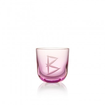 Glass B 200 ml Pink