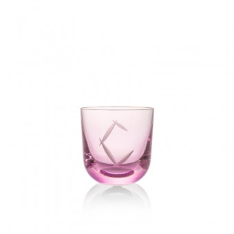 Glass C 200 ml Pink