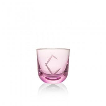 Sklenice C 200 ml pink