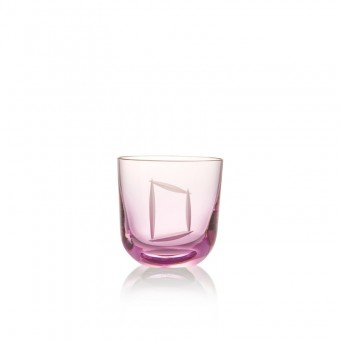 Sklenice D 200 ml pink