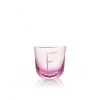 Glass E 200 ml Pink