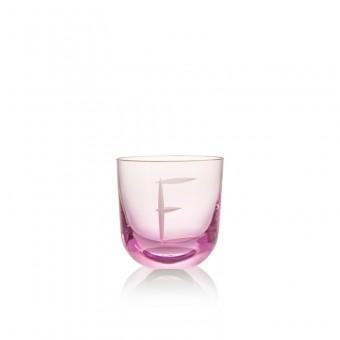 Sklenice E 200 ml pink