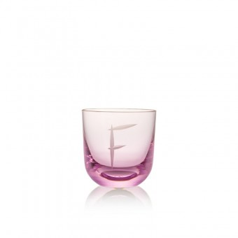 Glass F 200 ml Pink