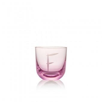 Sklenice F 200 ml pink