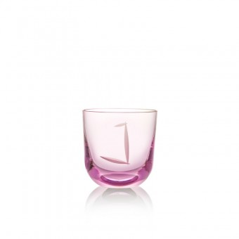 Glass J 200 ml Pink