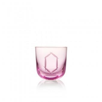 Glass O 200 ml Pink