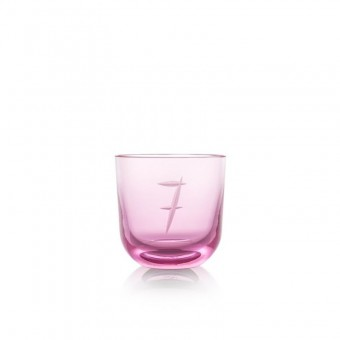 Glass Number 7 200 ml Pink