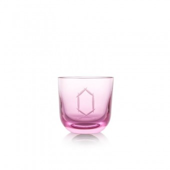 Glass Number 0 200 ml Pink