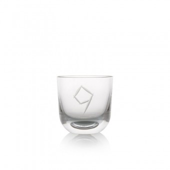 Glass number 9 200 ml Crystal
