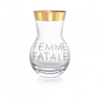 Váza Femme Fatale zlato 42 cm