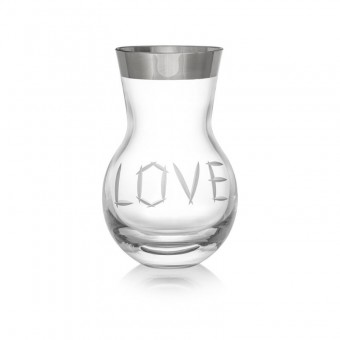 Vase Love Large Platinum