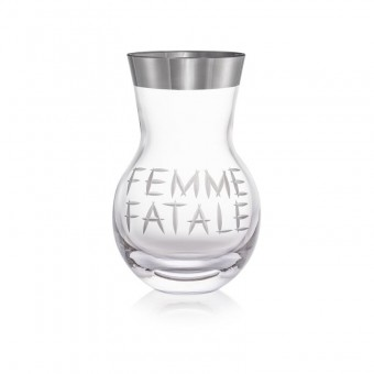 Vase Femme Fatale Platinum...