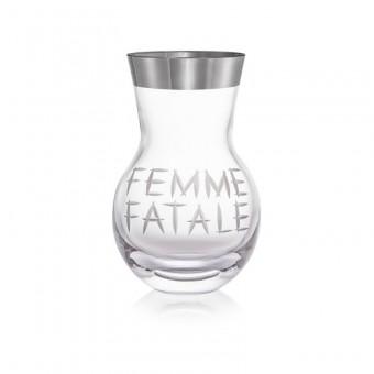 Vase Femme Fatale Platinum